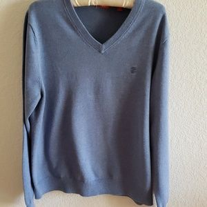 IZOD men's  V- neck sweater size M.